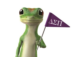 GEICO Gecko with DSP Flag