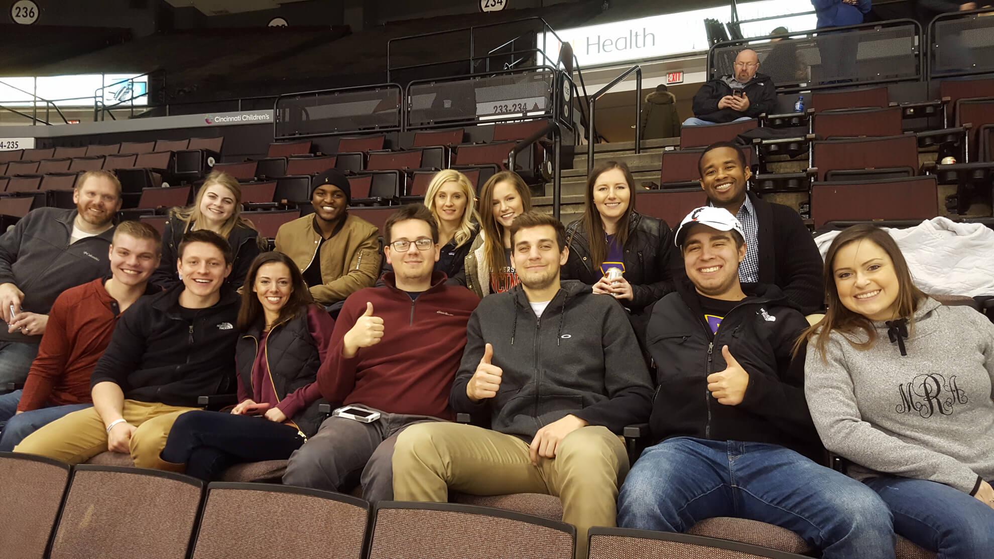 Cincinnati Alumni Hockey Game w UC