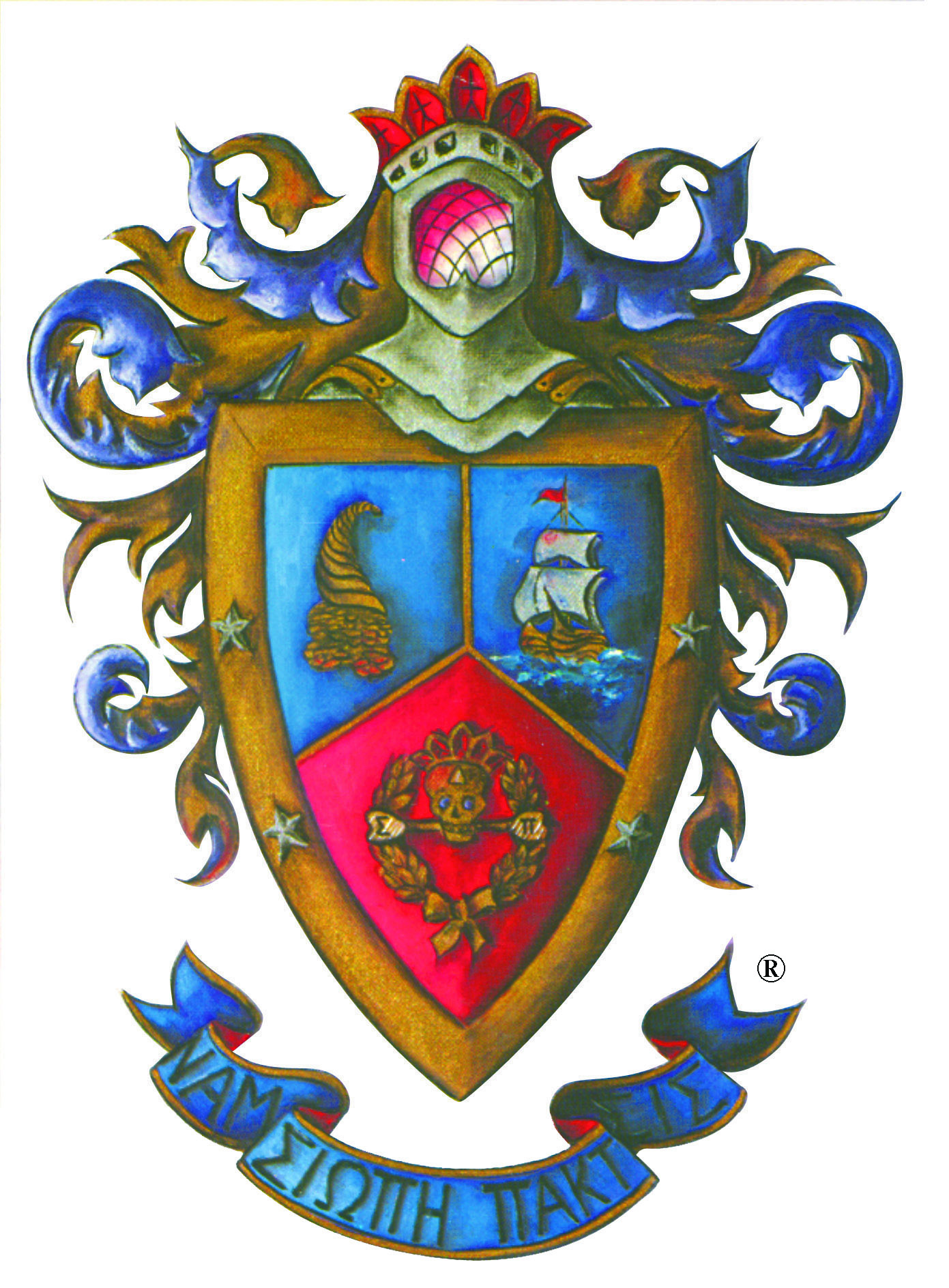 High res color coat of arms
