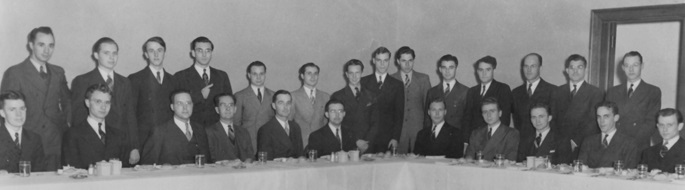 Alpha Delta Nebraska Lincoln Founders Day 1938