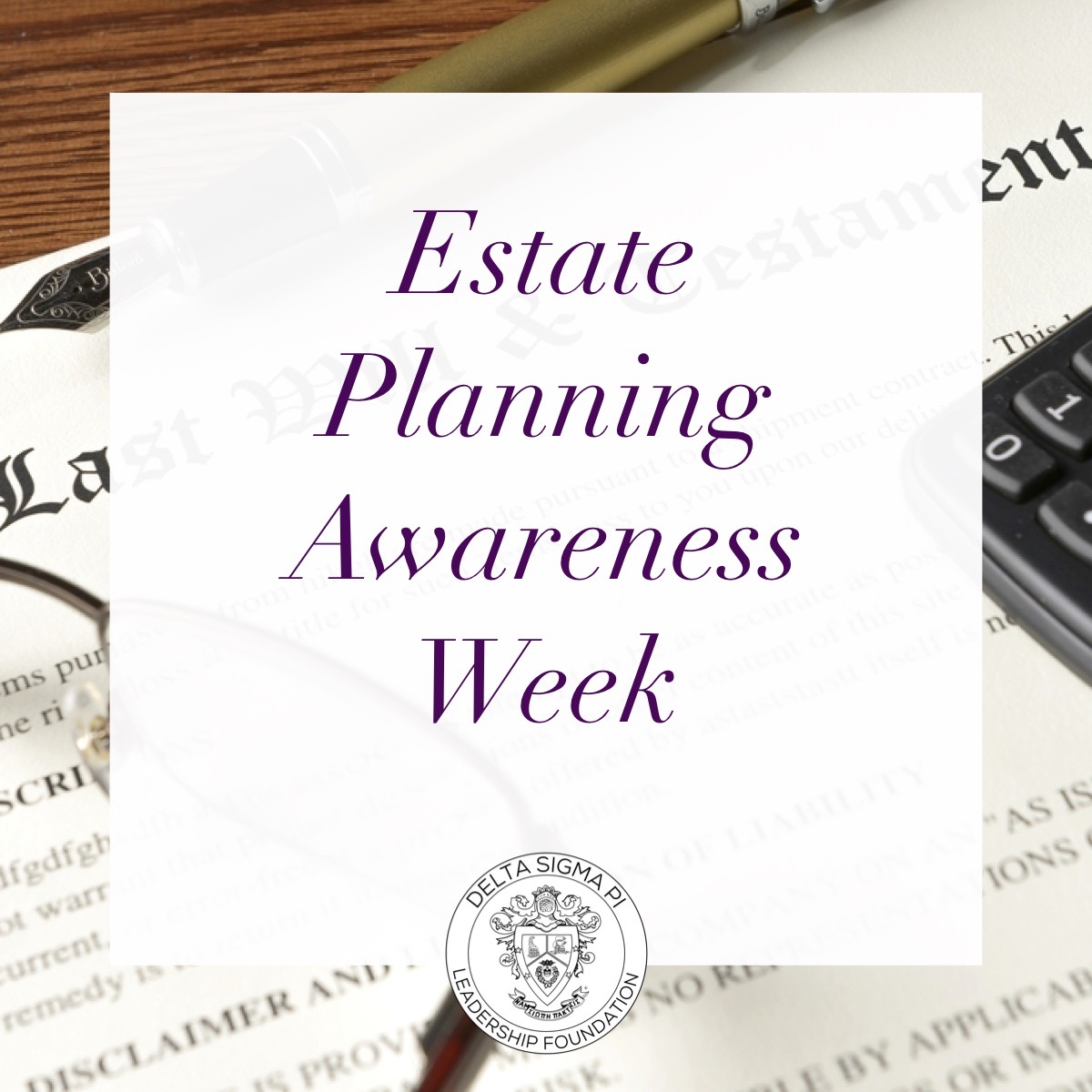 Estate Planning Week Post (General)